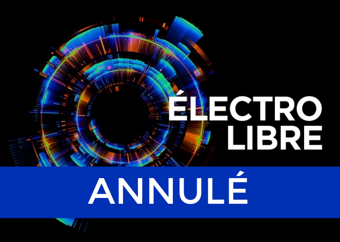 Poster for Électro Libre